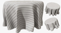 3d dining table cloth