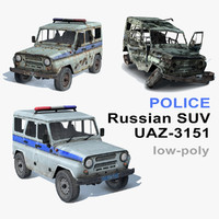 UAZ-3151 Police Set