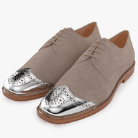 3d model christian louboutin gareth mens