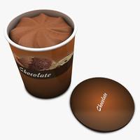 ice cream - c4d