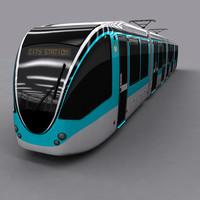 tram city 3d max