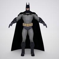 rigged batman 3d max