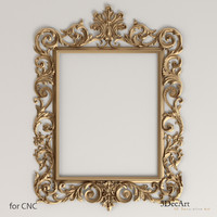 obj decorative frames mirrors