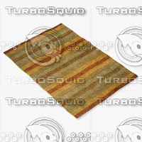 momeni rugs abstract gm06mti 3d model