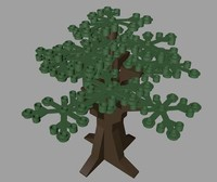 3ds max lego tree
