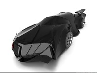 3d model fantastic car lancelot