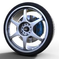 5Zigen ProRacer GN Wheel