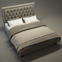 max contemporary bed