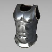 cuirass armor 3d lw