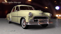 chevrolet styleline deluxe 3ds free