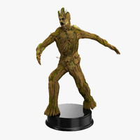 3d model groot pose 2