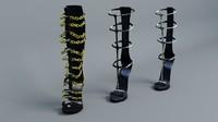 3d sandals gladiator