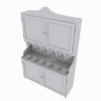 3d bar rack model