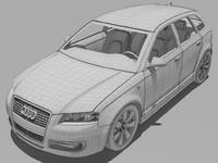 3d a3 model