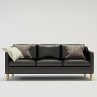 modern sofa hamilton 3-seat 3d x
