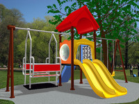 3ds max playground equipment play ground