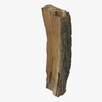 3d wooden heat model