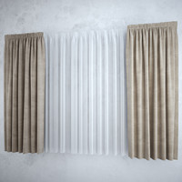 Curtains+tulle(blinds),,,