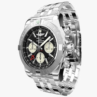 breitling chronomat 3d model