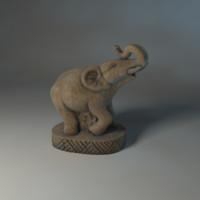 Elephant_statuette