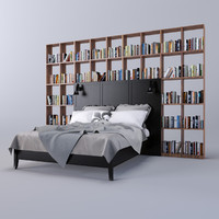 library beds 3d model