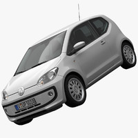 volkswagen up! 3d model