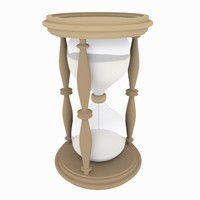 3dsmax hourglass modeled