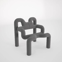 3d model of ekstrem chair