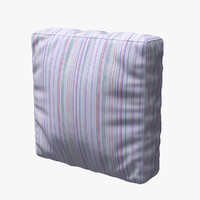 3d pillow cloth model