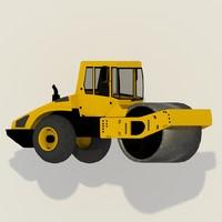 road compactor