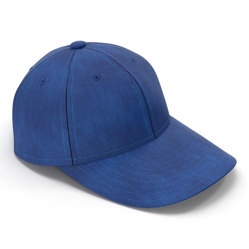 Baseball Cap 3d model 01.jpg