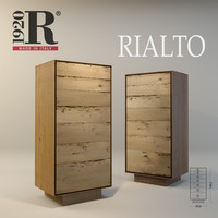 3d model rialto highboard modern