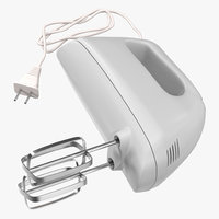 3ds hand mixer white