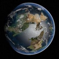 planet omega iv 3d model