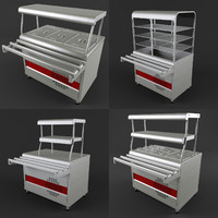 cafes equipment 3d model
