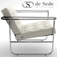 3d model desede he-113 armchair
