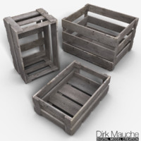 3ds max set crates