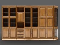 3dsmax taranko - senator bookcase