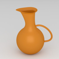 free water pitcher 3d model