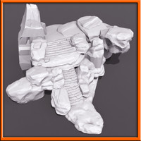 3d model stairs stone