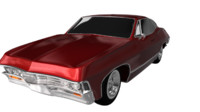 3d model of chevy 1967