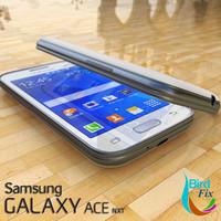 samsung galaxy ace nxt 3d 3ds
