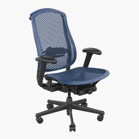 celle chair 3d max