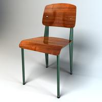 3d max jean standard chair vitra