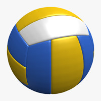 volleyball balls 3ds