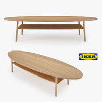 3d model of ikea coffee table