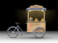 Ice Cream Cart Bike [French]