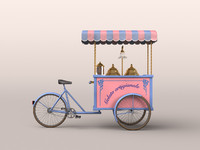 Ice Cream Cart Bike [Italy]