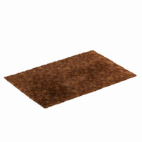 3d model fur carpet