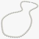 pearl necklace 3D models